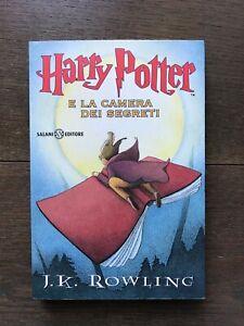 Harry Potter e la camera dei segreti prima edizione in brossura
