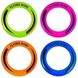 "10""(25cm) Neon Flying Ring Disc Frisbee Flyer Adult Kid Family Outdoor Play Toy"