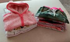 15 tlg. Herbst/Winter Baby Mädchen Kleider-Paket 62/68