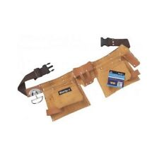 Blue Spot Tools 16334 Leather Double Tool Belt Nail Pouches & Tool Holders
