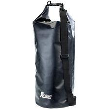 Outdoor Packsack: Wasserdichter Packsack 25 Liter, schwarz