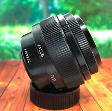 EX+++ USSR !  JUPITER 9 2x85mm lens for Zenit M42 sn 8402262 EX+++++
