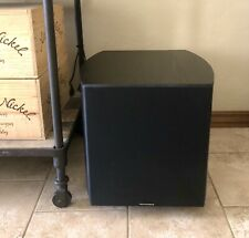 Monoprice 12in 150-Watt Powered Subwoofer, Black MSUB-122BL