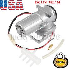DC12V 38L/ M Permanent Magnetic Air Compressor Pump Air Inflate Aerator BOYU