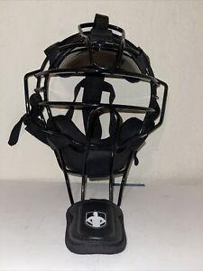 Diamond  Baseball Umpire Face Mask - Black