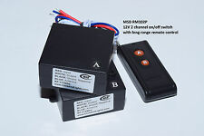 12V DC 2CH ON/OFF LONG RANGE REMOTE CONTROL SWITCH RM102P