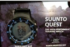 Suunto Quest Heart Rate Monitor - Blue W/ Suunto Movestick And Suunto Dual Belt