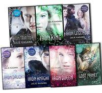 Julie Kagawa The Iron Fey Call of the Forgotten 7 Books Collection Pack Set -Iro