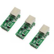 3 pcs USRIOT USR-TCP232-T2 Tiny Serial Ethernet Converter Module Serial UART TTL