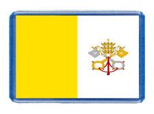 Vatican City Flag Fridge Magnet -European Country -Large (7cm x 4.5cm) - Tourism