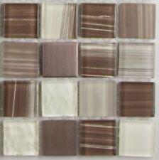 pièces de PATRON mosaïque Tolima verre métal 10 x 10 x 0,4 cm