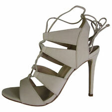 Leather Lace Up Ankle Strap Sandals & Flip Flops for Women