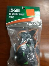 LS-50D BBMG HIGH TORQUE SERVO LHS ELECTRONICS NEW IN PACKAGE!