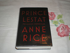 Prince Lestat by Anne Rice      *SIGNED*
