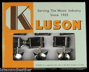 6 In Line Vintage Kluson SD9105MN Tuners fits Fender Stratocaster,Telecaster