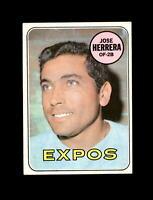1969 Topps Baseball #378 Jose Herrera RC (Expos) NM