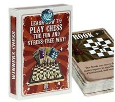 Learn Basics Of Chess Fun Way For Kids & Adults Card Game by Happy Unplugged NEW
