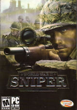 WORLD WAR II SNIPER CALL TO VICTORY - Classic WW2 Shooter PC Game - NEW in BOX*