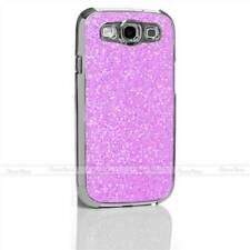 SPARKLE GLITTER DIAMOND BLING CHROME HARD CASE COVER FOR SAMSUNG GALAXY S3 LTE