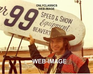 1973 JAN OPPERMAN AUTO RACING'S ORIGINAL OUTLAW 8X10 PHOTO WINGED SPRINT CAR
