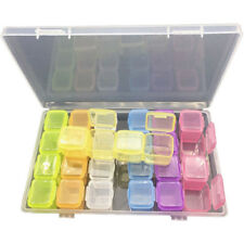 28 Compartments Plastic Box Jewelry Bead Storage Container Craft Organizer Nice