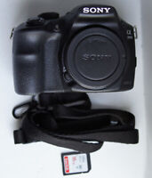 Sony a3000 20.1MP (Body Only) Viewfinder Mirrorless Camera 5.3k shutter count