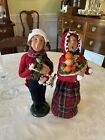 Lot Of 2 Byers Choice Carolers Man And Woman