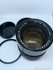 Leica Leitz SUMMILUX-R 80mm f/1.4 Lens 3-Cam with filter