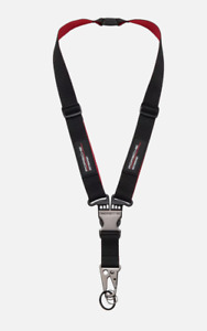 Porsche Motorsport Lanyard, Black/Red GENUINE WAP8000030J