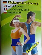 Universal Rückenstütze Bauchweg Schlankgürtel Rückengurt Gurt Nieren NEOPREN