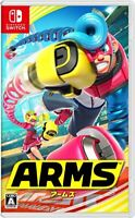 USED Nintendo Switch ARMS Japan import