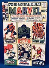Marvel Tales #1 (1964) Reprint Origins - Spider-Man Thor Hulk Iron Man Sgt. Futu