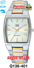 AUSSIE SELLER GENTS DRESS WATCH CITIZEN MADE 2/TONE Q138-401 P$99.95 WARANTY