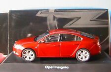OPEL INSIGNIA 2009 ROUGE SCHUCO 1/43 BERLINE 5 PORTES SEDAN RED ROT ROSSO