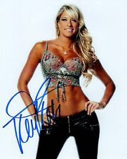 Kelly Kelly Signed Autograph WWE Diva Hot Jeans 8x10 Photo
