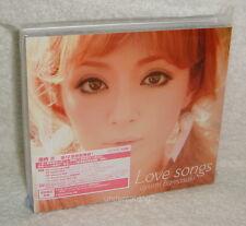 J-POP Ayumi Hamasaki Love Songs 2010 Taiwan Ltd CD+DVD