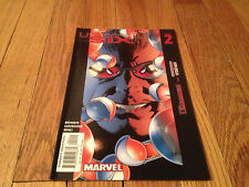 ULTIMATE SIX #3 SPIDER-MAN Brian Michael Bendis COMIC BOOK Trevor Hairsine 2003