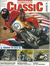 + Motorrad Classic 02/2003 - BMW R 90 S - Ariel Square Four - Honda RC 181 uvm.