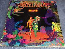 Carlos Santana Autographed Signed Amigos Record Album LP
