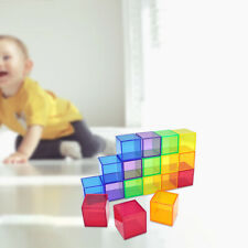 18x Professional Geometric Cube Puzzle Cube Kids Educational Toy Toy Gifts