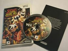 NINTENDO Wii GAME THE SECRET SATURDAYS BEASTS OF THE 5th SUN +BOXED PAL