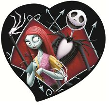 NIGHTMARE BEFORE CHRISTMAS JACK SALLY ***********T-SHIRT IRON ON TRANSFER