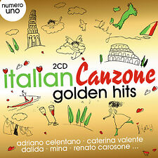 CD Italian Canzone Golden Hits von Various Artists  2CDs)