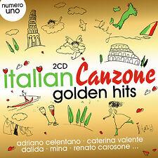 CD Italien Canzone Golden Hits d'Artistes divers 2CDs)