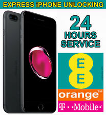 Factory Unlocking Service For iPhone 7 & 7 Plus - UK EE Orange Tmobile -24 Hrs