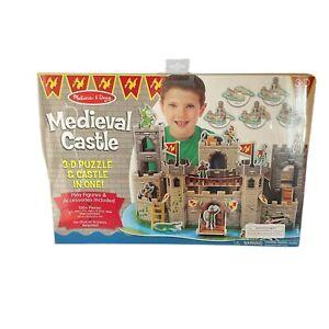 Melissa and Doug Medieval Castle3-D Puzzle and Castle Ages 6+ 100 pieces