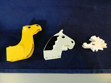 LEGO HORSE, CAMEL HEADS,   LOT OF 3 DIFFERENT, CHECK MY PICTURES