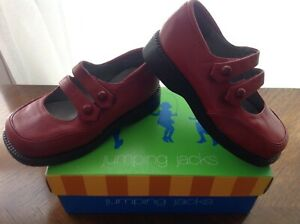 NEW Jumping Jacks Shoes red MARIANE girls 9 baby dress Mary Jane Strap toddler