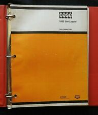 CASE 1830 UNI-LOADER PARTS CATALOG MANUAL VERY GOOD SHAPE