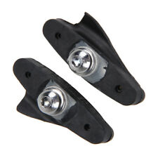 2X Mtb Road Bicycle Braking V-Brake Holder Shoes Rubber Pads Blocks N#S7